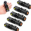 hesapli Makyaj ve Tırnak Bakımı-2000 lm LED Fenerler Cree XR-E Q5 3 Kip - UltraFire SK68 - Zoomable / Su Geçirmez / Ayarlanabilir Fokus