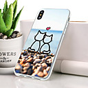 cheap iPhone Cases-Case For Apple iPhone XS Max Dustproof / Ultra-thin / Pattern Back Cover Cat / Cartoon Soft TPU for iPhone XS Max