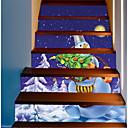 cheap Bathroom Gadgets-Decorative Wall Stickers - Holiday Wall Stickers Christmas Decorations Outdoor / Office