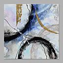 ieftine Brățară Gleznă-Hang-pictate pictură în ulei Pictat manual - Abstract Modern Fără a cadru interior / Canvas laminat