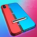 levne iPhone kabely a adaptéry-Carcasă Pro Apple iPhone XS / iPhone XS Max Nárazuvzdorné / se stojánkem / Magnetické Zadní kryt Jednobarevné Pevné PC pro iPhone XS / iPhone XS Max / iPhone X