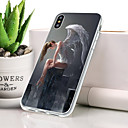 cheap iPhone Cases-Case For Apple iPhone XS Dustproof / Ultra-thin / Pattern Back Cover Sexy Lady Soft TPU for iPhone XS