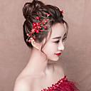 ieftine Moda Lolita-Mireasă klasické Tradițional Cu Mărgele Stil Chinezesc Veșminte de cap Clești Pentru Cheful Burlacelor Petrecere Nuntă Pentru femei Fete Costum de bijuterii