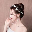 ieftine Moda Lolita-Mireasă Floral Stil Chinezesc Elegant Veșminte de cap Clești Agrafe de păr Seturi de bijuterii de mireasă Pentru Cheful Burlacelor Petrecere Nuntă Pentru femei Fete Costum de bijuterii