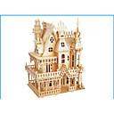 رخيصةأون 3D الألغاز-قطع تركيب3D تركيب النماذج الخشبية مجموعات البناء قصر بناء مشهور خشب الخشب الطبيعي للبالغين للجنسين هدية