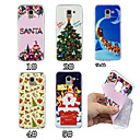 cheap Galaxy S Series Cases / Covers-Case For Samsung Galaxy J7 (2017) / J5 (2017) Pattern Back Cover Christmas Soft TPU for J7 (2017) / J6 (2018) / J5 (2017)