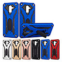 cheap Galaxy J Series Cases / Covers-Case For Samsung Galaxy J7 (2017) / J5 (2017) Shockproof / with Stand Back Cover Solid Colored / Armor Hard PC for J8 (2018) / J7 Prime / J7 (2017)