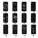 رخيصةأون أغطية أيفون-غطاء من أجل Apple iPhone XS / iPhone XR / iPhone XS Max مثلج / نموذج غطاء خلفي خطوط / أمواج / كارتون ناعم TPU
