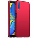 رخيصةأون Huawei أغطية / كفرات-غطاء من أجل Samsung Galaxy A6 (2018) / A6+ (2018) / Galaxy A7(2018) مثلج غطاء خلفي لون سادة قاسي الكمبيوتر الشخصي