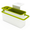 hesapli Temizlik Malzemeleri-Mutfak fırça sünger askı vantuz ile lavabolar drenaj havlu tutucu kuru raflar