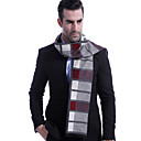 cheap Dog Clothing & Accessories-Men's Work / Basic Rectangle Scarf - Color Block Pleated / Fall / Winter