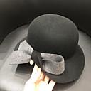 ieftine Bijuterii de Păr-Elizabeth Minunata doamnă Maisel Pentru femei Adulți femei Retro / Vintage Pălării Felt pălărie Maro Roz Roșu Bloc Culoare Vintage Lână Veșminte de cap Lolita Accesorii