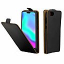 cheap Bike Lights-Case For Huawei Honor 10 Card Holder / Flip Full Body Cases Solid Colored Hard PU Leather for Huawei Honor 10