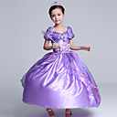 cheap PS4 Accessories-Princess Dress Cosplay Costume Kids Girls' Cute Christmas Halloween Children's Day Festival / Holiday Light Purple Carnival Costumes Princess