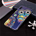 abordables Coques d'iPhone-Coque Pour Apple iPhone XR / iPhone XS Max Phosphorescent / Motif Coque Chouette Flexible TPU pour iPhone XS / iPhone XR / iPhone XS Max