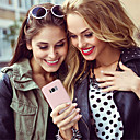رخيصةأون حافظات / جرابات هواتف جالكسي S-غطاء من أجل Samsung Galaxy Galaxy S10 / Galaxy S10 Plus مثلج غطاء خلفي لون سادة ناعم جل السيليكا إلى S9 / S9 Plus / S8 Plus
