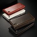 voordelige Galaxy S-serie hoesjes / covers-CaseMe hoesje Voor Samsung Galaxy S9 Plus / S7 edge Portemonnee / Kaarthouder / met standaard Volledig hoesje Effen Hard PU-nahka voor S9 / S9 Plus / S8 Plus