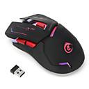 levne Myši-HXSJ X30 Bezdrátové zařízení 2.4G Gaming Mouse / Office Mouse LED světlo 2400 dpi 3 Nastavitelné úrovně DPI 6 pcs Klíče 6 programovatelných kláves