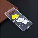 お買い得  Galaxy S シリーズ ケース/カバー-ケース 用途 Samsung Galaxy ギャラクシーS10プラス / Galaxy S10 E パターン バックカバー 象 ソフト TPU のために S9 / S9 Plus / ギャラクシーS10