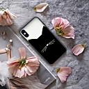 저렴한 아이폰 케이스-케이스 제품 Apple iPhone XR / iPhone XS Max 패턴 뒷면 커버 동물 / 카툰 하드 아크릴 용 iPhone XS / iPhone XR / iPhone XS Max