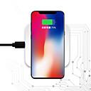 Недорогие Беспроводные зарядные устройства-Беспроводное зарядное устройство Зарядное устройство USB USB Беспроводное зарядное устройство / Qi 1 USB порт 1 A DC 5V для iPhone X / iPhone 8 / S8