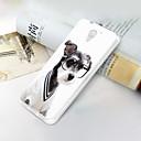 Недорогие Гаджеты для Samsung-Кейс для Назначение ZTE ZTE Blade A510 Ультратонкий / С узором Кейс на заднюю панель Животное Мягкий ТПУ