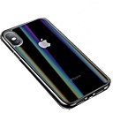 abordables Faros de Coche-Funda Para Apple iPhone XS / iPhone XR / iPhone XS Max Diseños Funda de Cuerpo Entero Un Color Dura Vidrio Templado