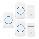 رخيصةأون أغطية أيفون-لاسلكي اثنين إلى ثلاثة الجرس موسيقى / دينغ دونغ جرس الباب غير المرئية في السطح
