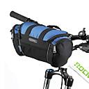 저렴한 오늘의 특가-ROSWHEEL 자전거 핸들바 백 어깨에 매는 가방 수분 방지 착용 가능한 충격방지 자전거 가방 PVC 600D 폴리 에스테르 싸이클 가방 싸이클 백 Samsung Galaxy S6 사이클링 / 자전거 / 방수 지퍼