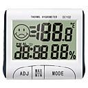 お買い得  デジタルテスター&オシロスコープ-DC102 ミニ / パータブル 湿度計 -10℃~50℃ 事務用 / 教育用, 家庭生活, 温度および湿度の測定