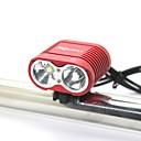 ieftine Frontale-Lumini de Bicicletă LED LED 0 emițători 2000 lm 3 Mod Zbor Cu Baterie și Încărcător Rezistent la apă Rezistent la Impact Reîncărcabil Camping / Cățărare / Speologie Utilizare Zilnică Ciclism