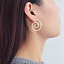 preiswerte Ohrringe-Damen Geometrisch Kreolen - Geometrisch Modisch Schmuck Gold Für Alltag Verabredung 1 Paar
