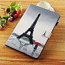 cheap iPad  Cases / Covers-Case For Apple iPad Pro 10.5 / iPad Pro 11'' Wallet / Card Holder / with Stand Full Body Cases Eiffel Tower Hard PU Leather for iPad Air / iPad 4/3/2 / iPad (2018)
