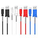 billige Kabler og adaptere-Type-C Kabel 1m-1.99m / 3ft-6ft Hurtig opladning TPE USB-kabeladapter Til Samsung / Huawei / Xiaomi