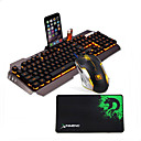 cheap Mouse Keyboard Combo-LITBest G3 USB Wired Mouse Keyboard Combo Color Gradient / Backlit Gaming Keyboard Luminous Gaming Mouse / Ergonomic Mouse 2400 dpi