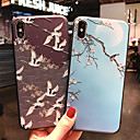 abordables Coques d'iPhone-Coque Pour Apple iPhone XR / iPhone XS Max Dépoli / Motif Coque Animal / Arbre / Fleur Flexible TPU pour iPhone XS / iPhone XR / iPhone XS Max