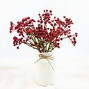 preiswerte Künstliche Blumen-Künstliche Blumen 3 Ast Klassisch Stilvoll Pastoralen Stil Pflanzen Tisch-Blumen