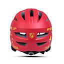 ieftine Accesorii GoPro-Wheel up Pentru copii biciclete Casca 13 Găuri de Ventilaţie CE Rezistent la Impact Modelată integral Ventilație EPS PC Sport Bicicletă șosea Bicicletă montană Exerciții exterior - Rosu Roz Băieți