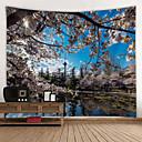 halpa Sisustustarrat-Kukkais-teema Wall Decor 100% polyesteri Moderni Wall Art, Seinävaatteet Koriste