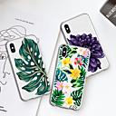 رخيصةأون ملصقات ديكور-غطاء من أجل Apple iPhone XS / iPhone XR / iPhone XS Max نموذج غطاء خلفي النباتات / زهور ناعم TPU