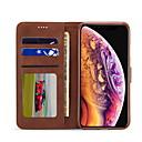 billige Skærmbeskyttelse Til iPhone SE/5s/5c/5-Nillkin Etui Til Apple iPhone XR / iPhone XS Max Pung / Kortholder / Med stativ Fuldt etui Ensfarvet Hårdt PU Læder for iPhone XS / iPhone XR / iPhone XS Max
