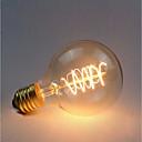 رخيصةأون حافظات / جرابات هواتف جالكسي A-1PC 40 W E26 / E27 G80 أصفر 2300 k مكتب  /  الأعمال / تخفيت / ديكور المتوهجة خمر اديسون ضوء لمبة 220-240 V