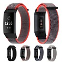 رخيصةأون حافظات / جرابات هواتف جالكسي J-حزام إلى Fitbit Charge 3 فيتبيت عصابة الرياضة / بكلة عصرية نايلون شريط المعصم