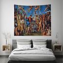 ieftine Decor de Perete-Temă Clasică / Temă Basme Wall Decor 100% Poliester Vintage / Tradițional Wall Art, Tapiserii de perete Decor