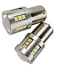 ieftine Becuri De Mașină LED-OTOLAMPARA 2pcs P21W Mașină Becuri 21 W SMD 3030 1680 lm 21 LED Lumini de frână Pentru Subaru / Cadillac / Audi Legacy / Q5 / Q7 2019