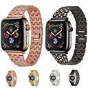 رخيصةأون أساور ساعات هواتف أبل-حزام إلى Apple Watch Series 4/3/2/1 Apple عقدة ميلانزية معدن شريط المعصم