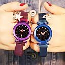 ieftine Cuarț ceasuri-Pentru femei Quartz Quartz Oțel inoxidabil Negru / Albastru / Violet Rezistent la Șoc Ceas Casual Analog Modă Elegant - Mov Roșu Vin Roz auriu Un an Durată de Viaţă Baterie