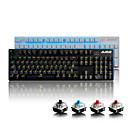 ieftine Decorațiuni Mobil-AJAZZ AK52 USB cu fir tastatură mecanică tastatura de gaming Programabil Luminos iluminare din spate monocromatica 104 pcs Chei