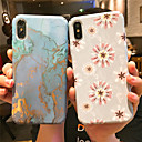 cheap iPhone Cases-Case For Apple iPhone XS / iPhone XS Max Ultra-thin / Pattern Back Cover Flower / Marble Hard PC for iPhone XS / iPhone XR / iPhone XS Max