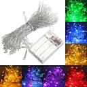 رخيصةأون أقراط-6.8M أضواء سلسلة 50 المصابيح أبيض دافئ / RGB / أبيض إبداعي / حزب / مناسبة للالسيارات بطاريات تعمل بالطاقة 1PC